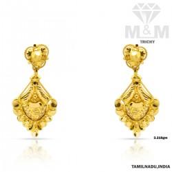 Charismatic Gold Fancy Earring