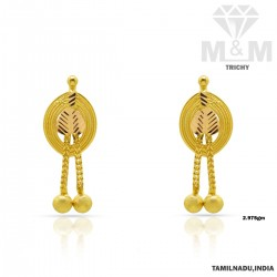 Gratify Gold Fancy Earring