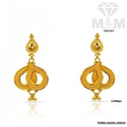 Artful Gold Fancy Earring