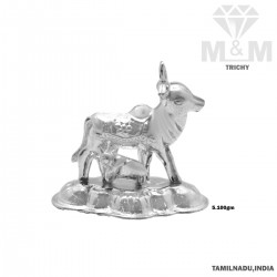 Coolest Silver Cow And Calf...