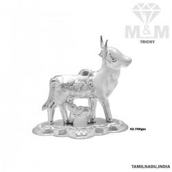 Nonpareil Silver Cow And...