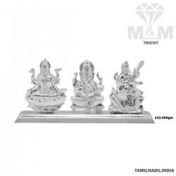 Eminent Silver Lord Lakshmi...