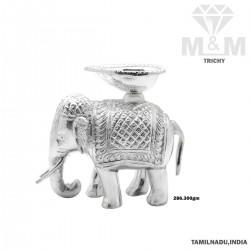 Exemplary Silver Elephant...