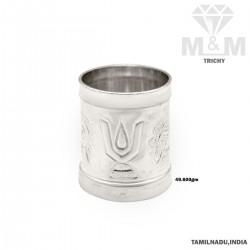 Sumptuous Silver Fancy Kubera Padi