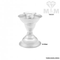 Culture Silver Fancy Candle...