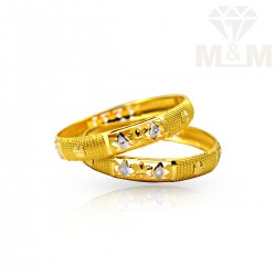 Auspicious Gold Fancy Bangles