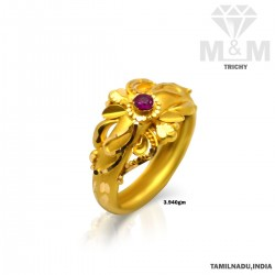 Adorable Gold Fancy Ring
