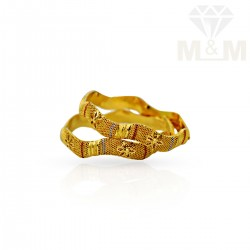 Excellence  Gold Fancy Bangles