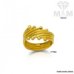 Beauteous Gold Fancy Ring