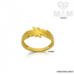 Divine Gold Casting Ring