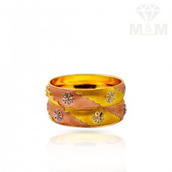 Illustrious Gold Fancy Bangles