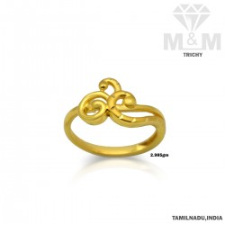 Exciting Gold Casting Ring