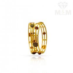 Modern Gold Fancy Bangles