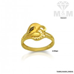 Fantastical Gold Casting Ring