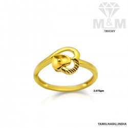 Good Looking Gold Casting Ring