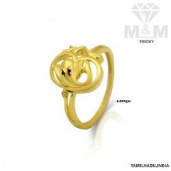 Haunting Gold Casting Ring