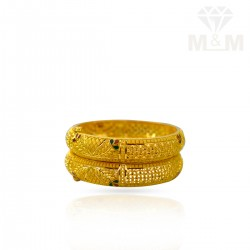 Handsome Gold Fancy Bangles