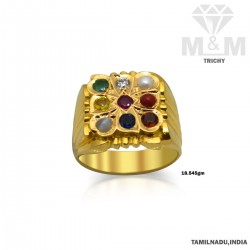 Picturesque Gold Diamond...
