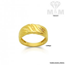 Alluring Gold Casting Ring