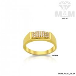 Pristine Gold Casting Ring