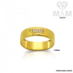 Tranquil Gold Wedding Ring