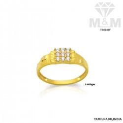 Vibrant Gold Casting Stone...
