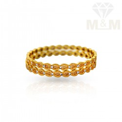 Pleasant Gold Fancy Bangles