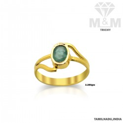 Amazing Gold Emerald Stone...