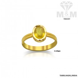 Canny Gold Yellow Sapphire...
