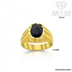 Colorful Gold Blue Sapphire...