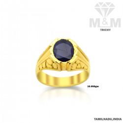 Cute Gold Blue Sapphire...