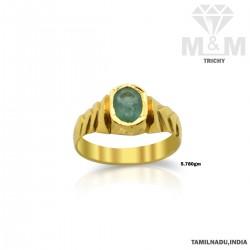 Exquisite Gold Emerald...