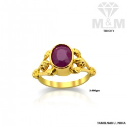 Fascinating Gold Ruby Stone...