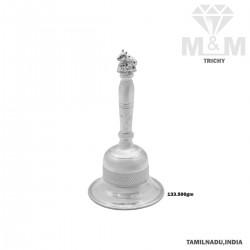 Seductive Silver Pooja Mani