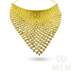 Glamorous Gold Fancy Choker...