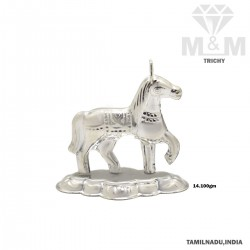 Joyful Silver Fancy Horse...