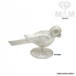 Vivacious Silver Parrot