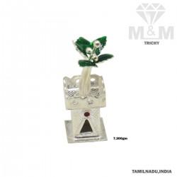 Luxury Silver Tulsi Madam