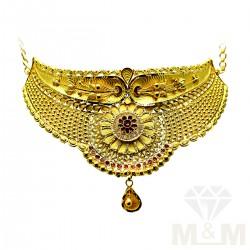 Fabulous Gold Fancy Choker...