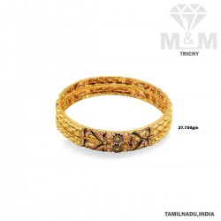 Perfection Gold Fancy Bangle