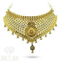 Exquisite Gold Fancy Choker...