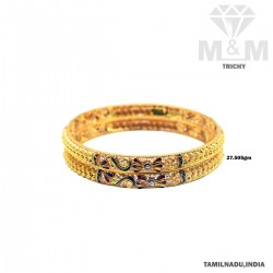 Snazzy Gold Fancy Bangle