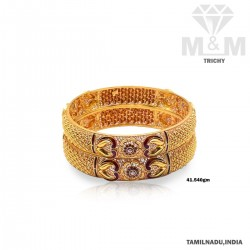 Renowned Gold Fancy Bangle