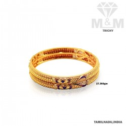 Notable Gold Fancy Bangle