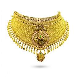 Exciting Gold Fancy Choker...