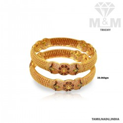 Illustrious Gold Fancy Bangle
