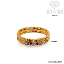 Celebrated Gold Fancy Bangle