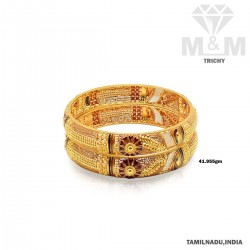 Legendary Gold Fancy Bangle