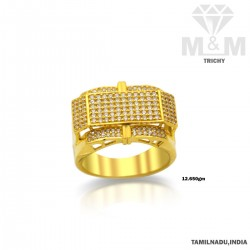 Legend Gold Casting Stone Ring