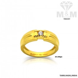 Fame Gold Casting Stone Ring